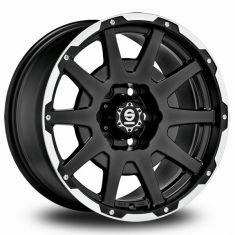 Sparco Dakar-Matt-Black-Lip-Polished Matt-Black-Lip-Polished+rivets 18/8,5