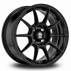 Sparco FF1-Black Gloss-Black 17/7
