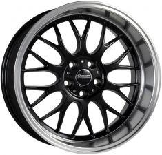Ocean Wheels Super DTM Black polish lip 18/8.5