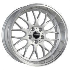 Ocean Wheels Super DTM silver polish lip 18/8.5