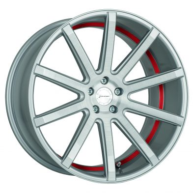 CORSPEED DEVILLE Silver-brushed-surface--Undercut-Color-Trim-Rot 19/8.5