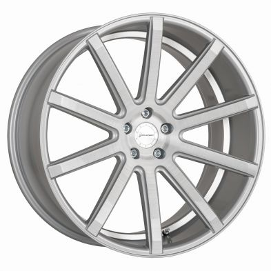 CORSPEED DEVILLE Silver-brushed-surface--Undercut-Color-Trim-Weiß 19/8.5