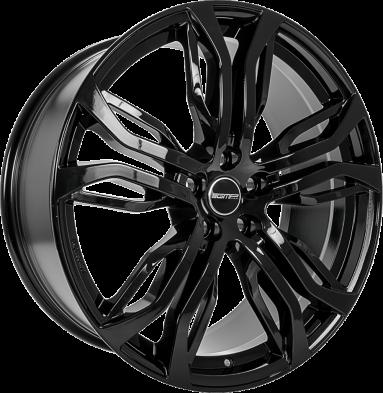 GMP Dynamik Black shiny 20/9