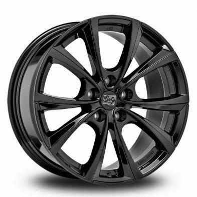 MSW 27T Black GLOSS BLACK 18/8.5