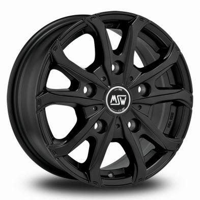 MSW 48 Van Black MATT BLACK 16/6.5