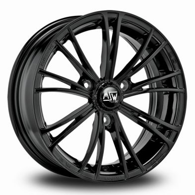 MSW X2 Black Gloss Black 15/6,5