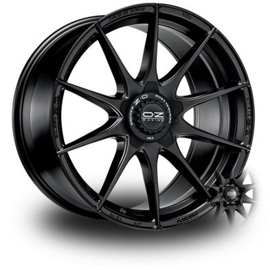 OZ Formula HLT Black MATT BLACK 17/7.5