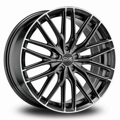 OZ Gran Turismo HLT STAR GRAPHITE DIAMOND LIP 19/8.5