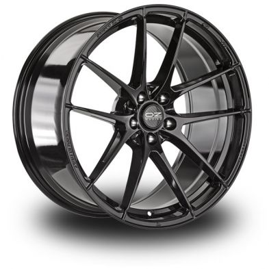 OZ Leggera HLT Black GLOSS BLACK 21/9.5