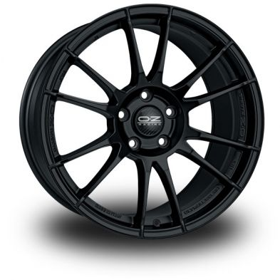 OZ Ultraleggera HLT Black MATT BLACK 19/8