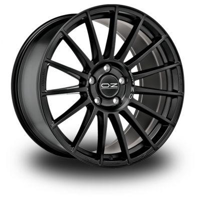 OZ Superturismo-Dakar-Black Matt-Black-Silver-Lettering 20/8,5
